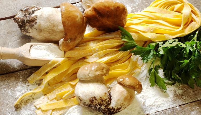 Oblíbená jídla z hub
